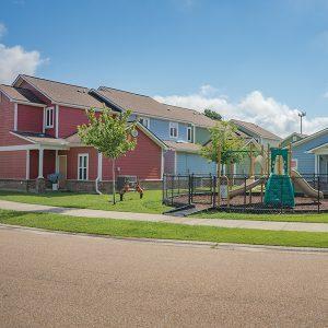Apartment & playground