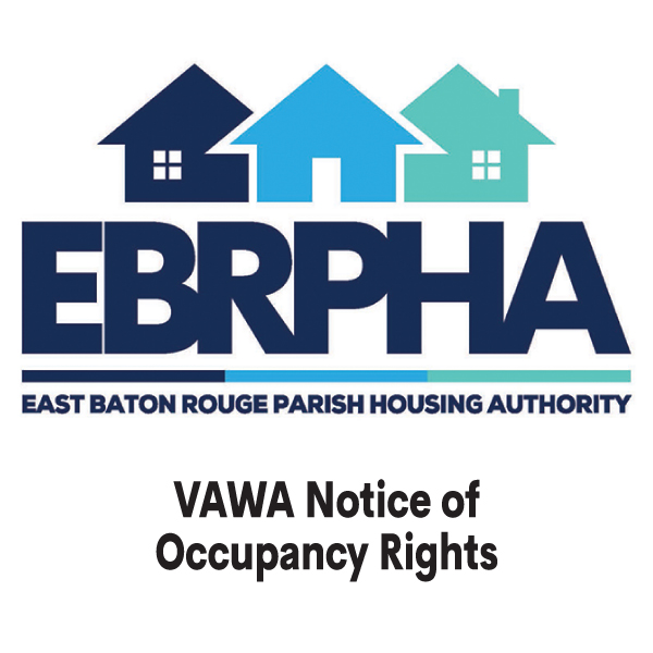 VAWA Notice of Occupancy Rights cover sheet