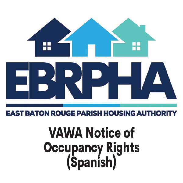 VAWA Notice of Occupancy Rights (Spanish) cover sheet