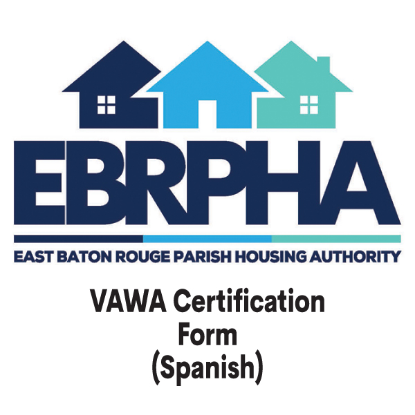 VAWA Certification Form (Spanish) cover sheet
