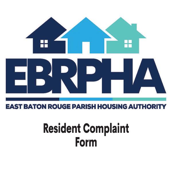 Resident Complaint Form
