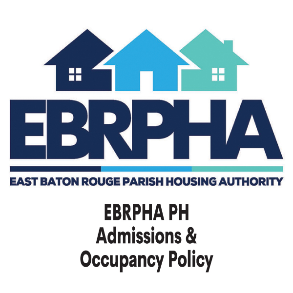 EBRPHA PH Admissions & Occupancy Policy