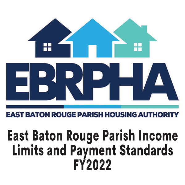 East Baton Rouge Parish Income Limits and Payments Standards FY 2022 cover sheet